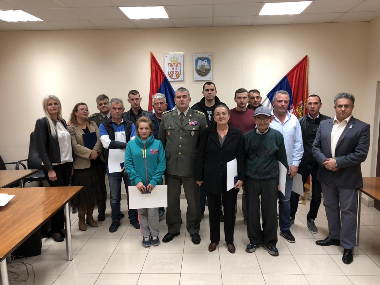 ZAHVALNOST: Značke i Zahvalnice Svrljižanima koji su dobrovoljno služili vojsku
