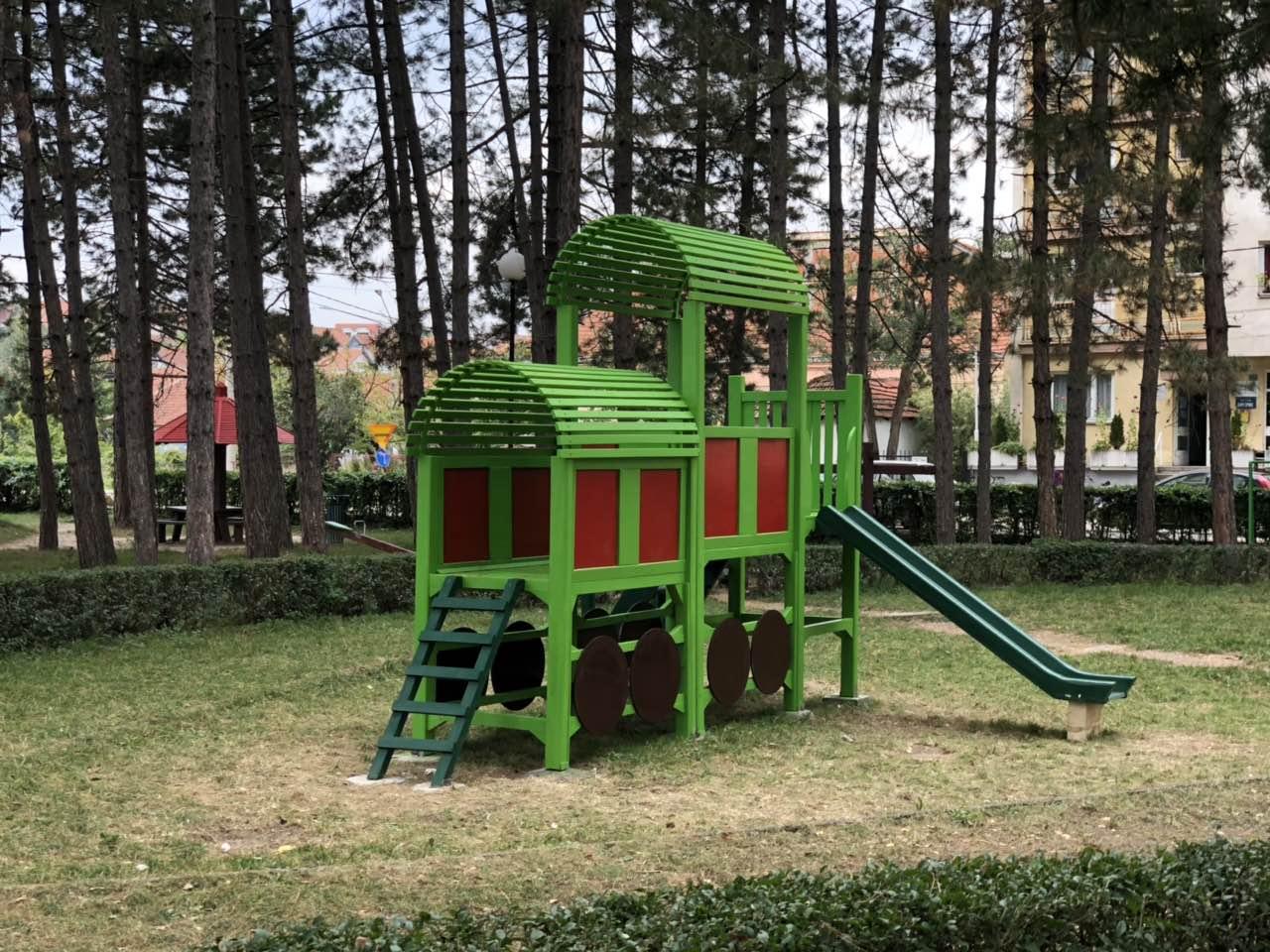 Vozić u centralnom delu igrališta, foto: M.M.