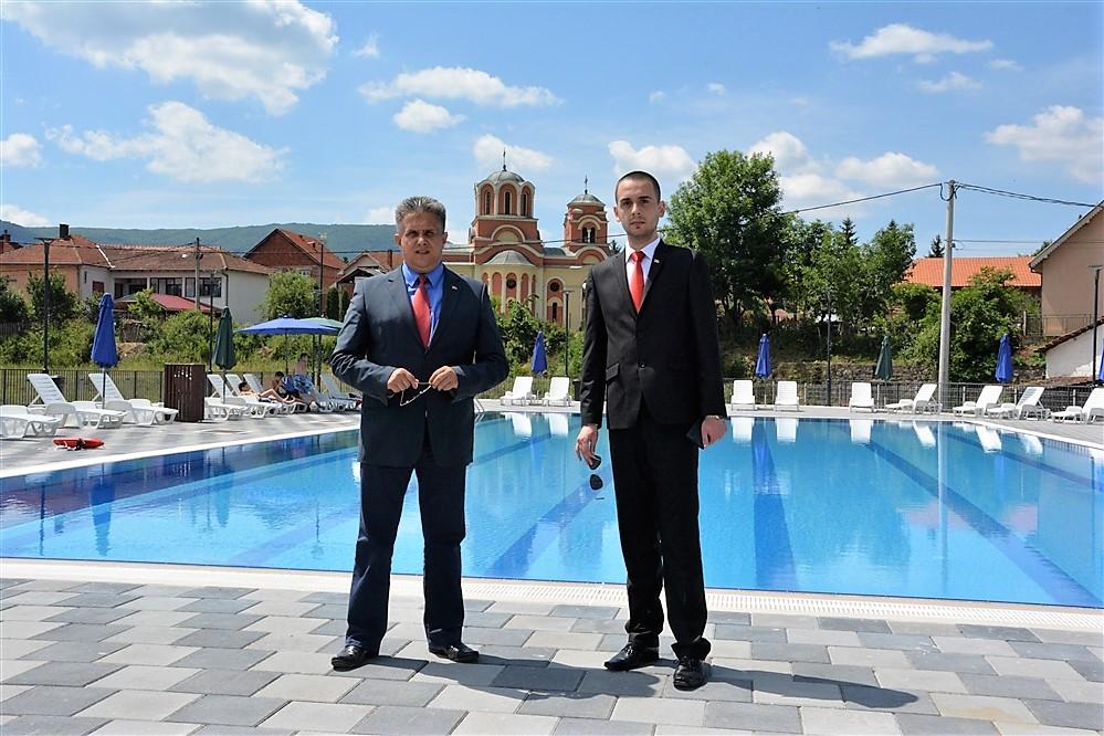 Miletić i Vukadinović na otvaranju bazena u Svrljigu