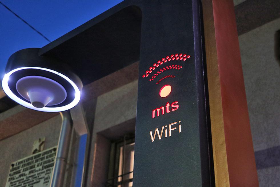 Internet drvo ispred MZ Drajinac, foto: M. M.