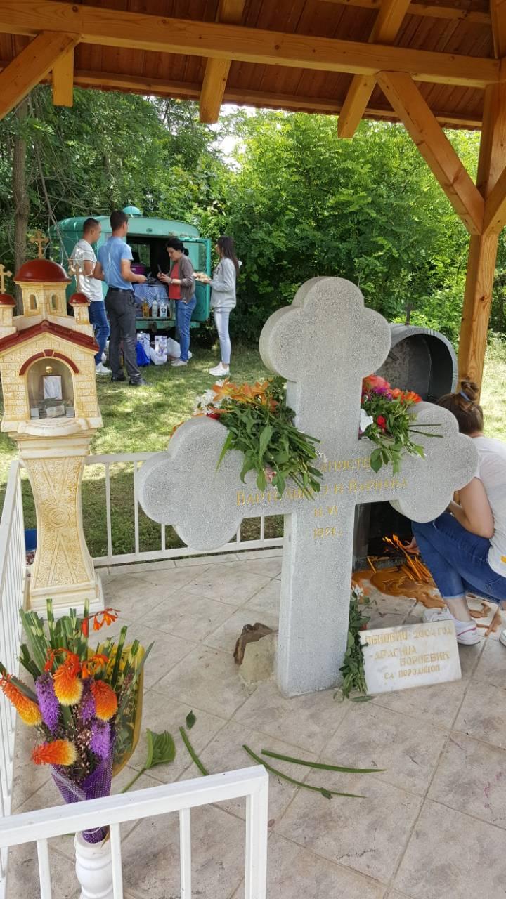 Litijom obeležena seoska slava Sveti Vartolomej i Varnava u Željevu
